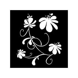 Šablona - květ 30*30 cm