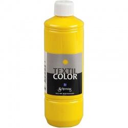 Barva na textil 500 ml - žlutá