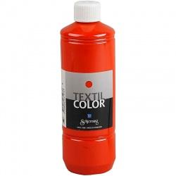 Barva na textil 500 ml - oranžová