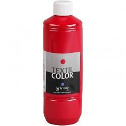 Barva na textil 500 ml - červená primární