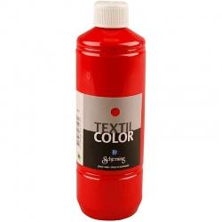 Barva na textil 500 ml - červená