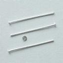 Nýtová jehla stříbro 40mm/20ks