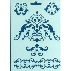 Šablona - ornament 20*15 cm 08