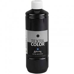 Barva na textil 500 ml - černá