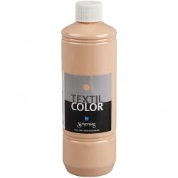 Barva na textil 500 ml - tělová
