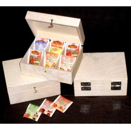 Krabička na čaj 9 přihrádek