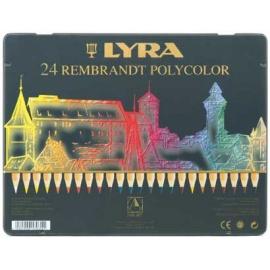 Pastelky Rembrant polycolor 24 ks