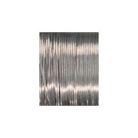 Postříbřený drát 1mm/4 m