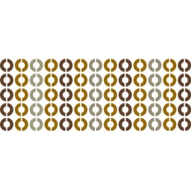 Šablona na texil - 70-léta  15*35 cm