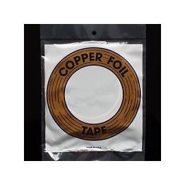 Folie vitrážní páska 6,4 mm měděná/stříbro