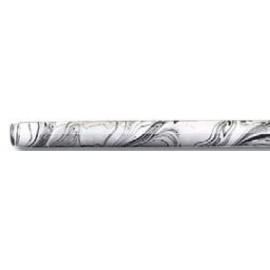 Násadka dřevěná délka 180mm bílé mramorování