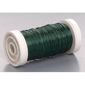 Měď.lak drát 0,5mm/50 m- zelený