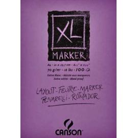 Blok XL Marker A4-100 listů 70 gr/m2
