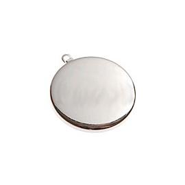 Lůžko kolečko stříbrné 3 cm