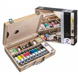 Sada olejových barev Van Gogh kufřík 10*40 ml
