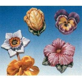 Forma na odlévání květiny