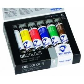 Sada olejových barev VanGogh 6*20 ml