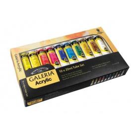 Sada akrylových barev Galeria 10*20 ml