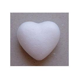 Polystyrenové srdce  7 cm