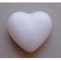 Polystyrenové srdce 10 cm