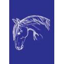 Sítotisk šablona My style A4 - koňská hlava
