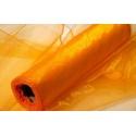 Organza šířka 40 cm /1 bm - oranžová