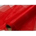 Organza šířka 40 cm /1 bm - červená