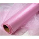 Organza šířka 40 cm /1 bm - růžová