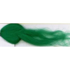 Merino ovčí rouno 18 - 10 gr. smaragdová