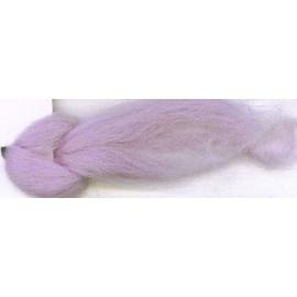 Merino ovčí rouno 25 - 20 gr. světlá fialová