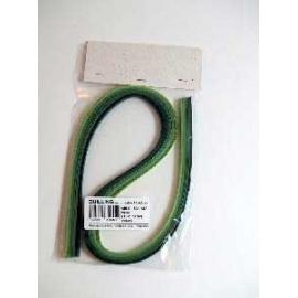 Quilling set-zelený 50 proužků 5mm