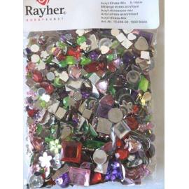 Nalepovací kamínky cca 1000 ks