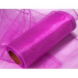 Organza šířka 40 cm /1 bm - magenta