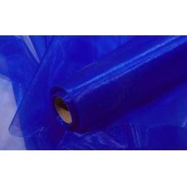 Organza šířka 40 cm /1 bm - tmavě modrá