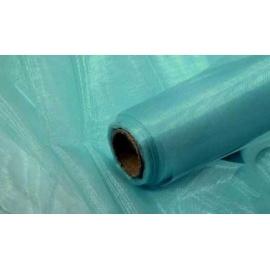 Organza šířka 40 cm /1 bm - světle tyrkysová