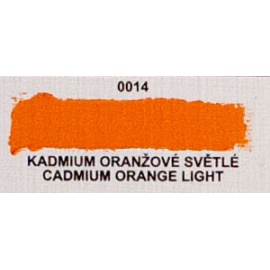Umton olejová barva kadmium oranžové světlé  60 ml