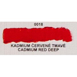 Umton olejová barva kadmium červené tmavé 60 ml
