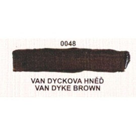 Umton olejová barva Van dyck hněď 60 ml