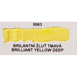 Umton olejová barva brilantní žluť tmavá 20 ml