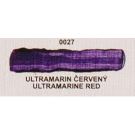 Umton olejová barva ultramarin červený 20 ml