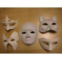 Maska kašírovaná hnědá