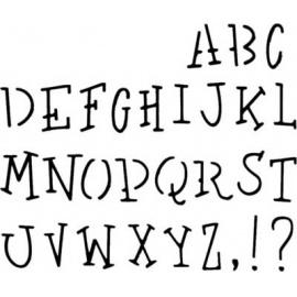 Šablona písmo 65058