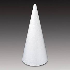 Polystyrenový kužel malý 18 cm