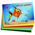 Kreslící karton barevný 50 listů 180g/m2 A3