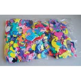 Výseky z pěnové gumy směs 15 gr