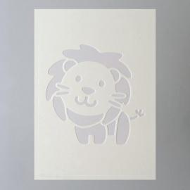 Šablona na textil  EFCO 20*15 cm lev