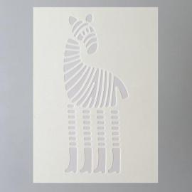 Šablona na textil  EFCO 20*15 cm žirafa