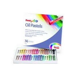 Olejové pastely pentel - 36 ks