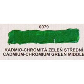 Umton olejová barva kadmio-chrom zeleň střední 20 ml