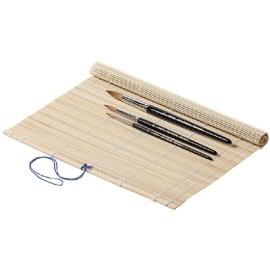 Bambusové pouzdro na štětce 33*33 cm